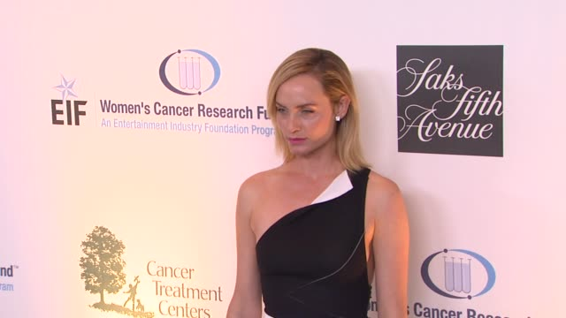 amber valletta at eif women's cancer research fund's 16th annual an unforgettable evening presented by saks fifth avenue on 5/2/13 in los angeles ca - amber valletta stock videos and b-roll footage
