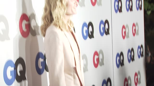 amber valletta at the gq men of the year awards at los angeles ca - amber valletta stock videos and b-roll footage