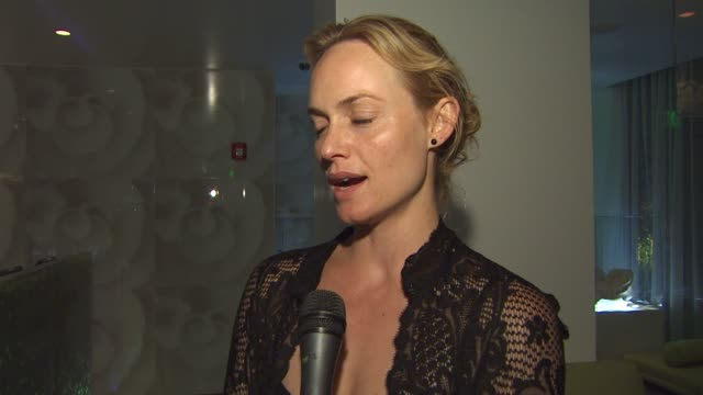 amber valletta on the hotel at the the waikiki edition opening weekend at honolulu hi - amber valletta stock videos and b-roll footage