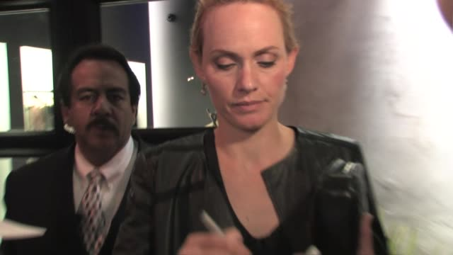 amber valletta outside the vera wang los angeles boutique at the celebrity sightings in los angeles at los angeles ca - amber valletta stock videos and b-roll footage