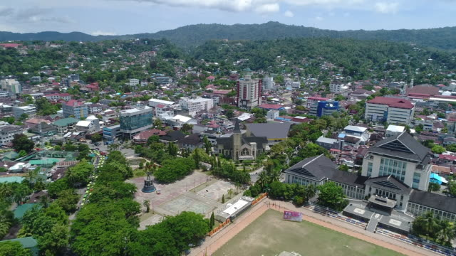 ambon city, maluku. - indonesia street stock videos & royalty-free footage