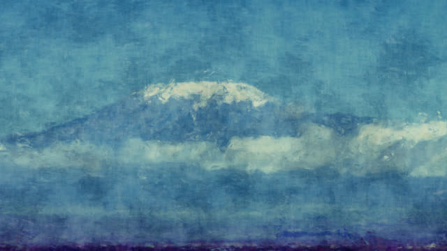 amboseli - mt kilimanjaro stock videos & royalty-free footage