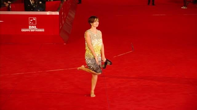 Ambra Angiolini at La Kryptonite Nella Borsa Premiere 6th International Rome Film Festival on November 02 2011 in Rome Italy