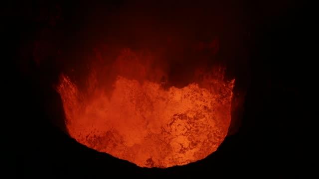 ambrym volcano - vanuatu - 火山点の映像素材/bロール