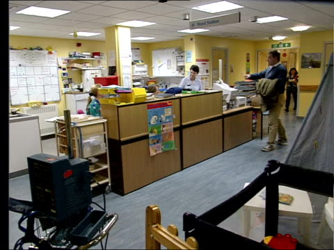 ambulance away from hospital accident and emergency department int david thomas interview sot - talks of the cost of complying with safety guidelines... - nurse jackie video stock e b–roll