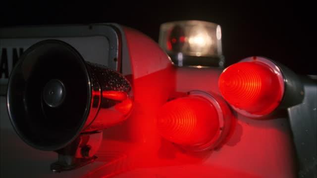 CU Ambulance lights flashing / Unspecified