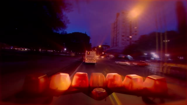 ambulance ligths - ambulance stock videos & royalty-free footage
