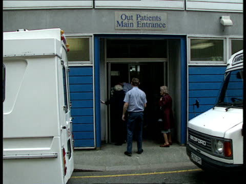 ambulance overtime ban ext 12 day elderly women helped into back of ambulance paddington ambulance away back of ambulance opened elderly st mary's... - outpatient care stock videos & royalty-free footage