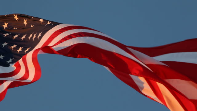 stockvideo's en b-roll-footage met ameican flag - amerikaanse vlag