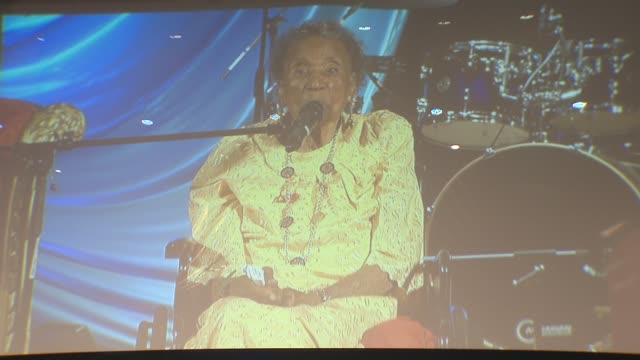 Amelia Boynton Robinson Speaks at the United Palace House of Inspiration on June 15 2015 in New York City