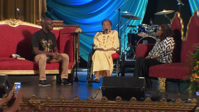 Amelia Boynton Robinson Speaks at the United Palace House of Inspiration on June 15 2015 in New York City She recalls an altercation with Governor...