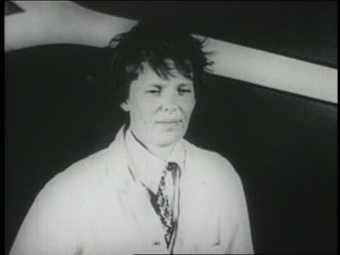amelia earhart with messy hair - 1928 stock videos & royalty-free footage