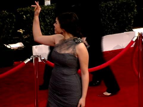 america, america ferrera at the 14th annual screen actors guild awards at los angeles ca. - america ferrera stock videos & royalty-free footage
