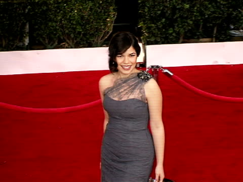 america, america ferrera at the 14th annual screen actors guild awards at los angeles ca. - america ferrera stock videos & royalty-free footage