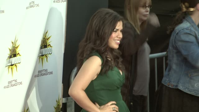 america, america ferrera at the hot in hollywood annual event at los angeles ca. - america ferrera stock videos & royalty-free footage