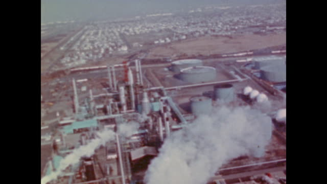 america begins to import oil in early 1970s - fuel crisis stock videos and b-roll footage