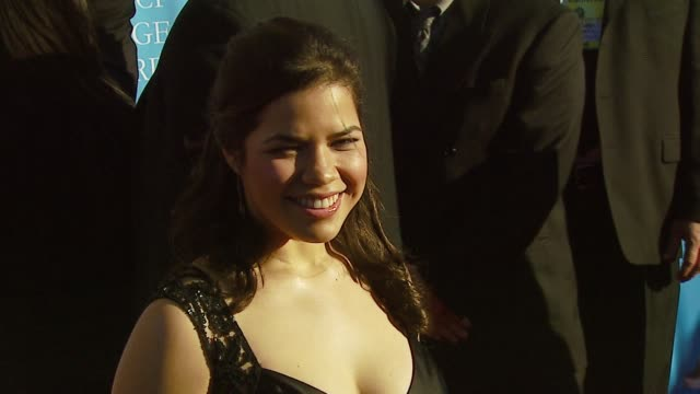 america ferrera at the 38th naacp image awards at the shrine auditorium in los angeles, california on march 2, 2007. - america ferrera stock videos & royalty-free footage