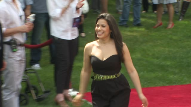 america ferrera at the 'how to train your dragon' premiere at universal city ca. - america ferrera stock videos & royalty-free footage