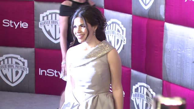 america ferrera at the instyle 2009 golden globes after party part 4 at los angeles ca. - america ferrera stock videos & royalty-free footage