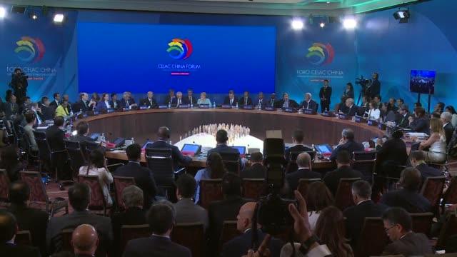 America Latina y el Caribe anunciaron el lunes en Santiago su compromiso con la iniciativa china la franja la ruta que busca estimular el comercio...