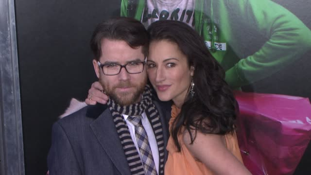 America Olivo and Christian Campbell at 'Young Adult' World Premiere Arrivals Red Carpet New York NY United States