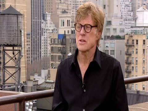 American actor Robert Redford on independent films