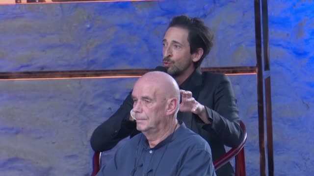 american actor/producer adrien brody attends the yungang forum during the 5th jackie chan international action film week on july 26 2019 in datong... - adrien brody stock videos and b-roll footage