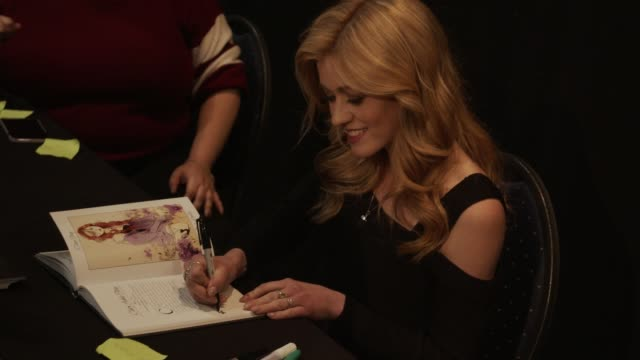 american actress katherine mcnamara signs for fans at heroes dutch comic con in utrecht the netherlands - utrecht stock videos and b-roll footage