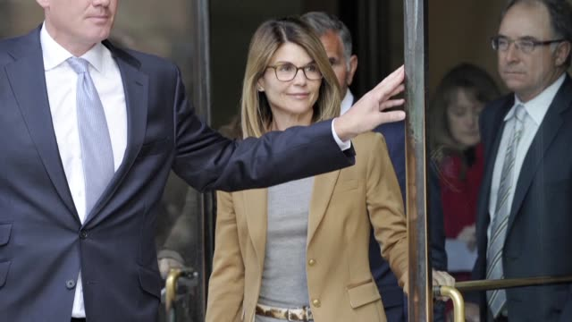 american actress lori loughlin has been hit with a second charge stemming from a college admissions bribery scandal increasing the likelihood that... - prison education stock videos & royalty-free footage
