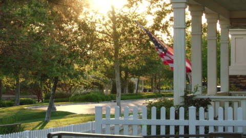 american afternoon - small town america stock videos & royalty-free footage