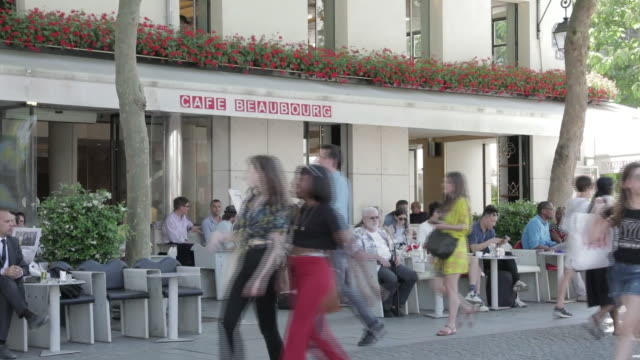 american brands in paris france on thursday june 28 2018 - window display stock videos and b-roll footage