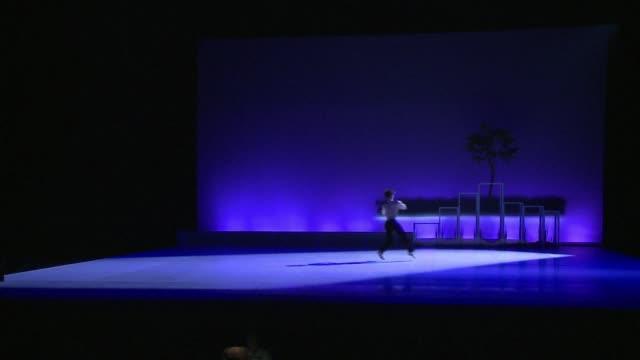 vídeos y material grabado en eventos de stock de american choreographer carolyn carlson will on monday present the world premiere of her new ballet called pneuma inspired by the philosophical work... - aquitania