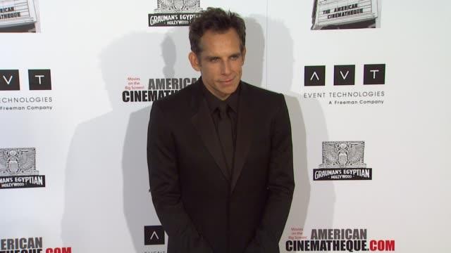 american cinematheque 26th annual award presentation to ben stiller 2012, beverly hills, ca, united states, 11/15/12 - マーティン ショート点の映像素材/bロール