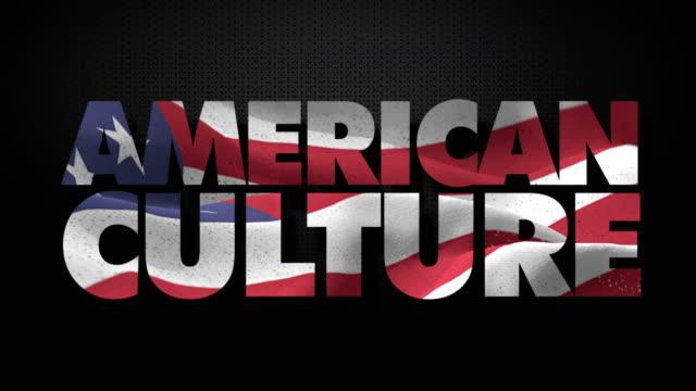 vidéos et rushes de culture américaine avec drapeau américain - drapeau américain