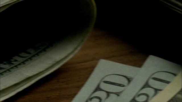 ECU, PAN, American dollar banknotes