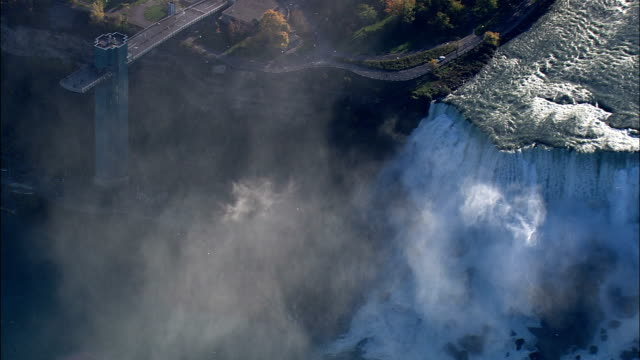 American Falls - Aerial View - New York,  Niagara County,  United States