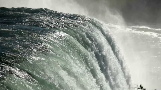 american falls at niagara falls - niagara falls stock videos and b-roll footage