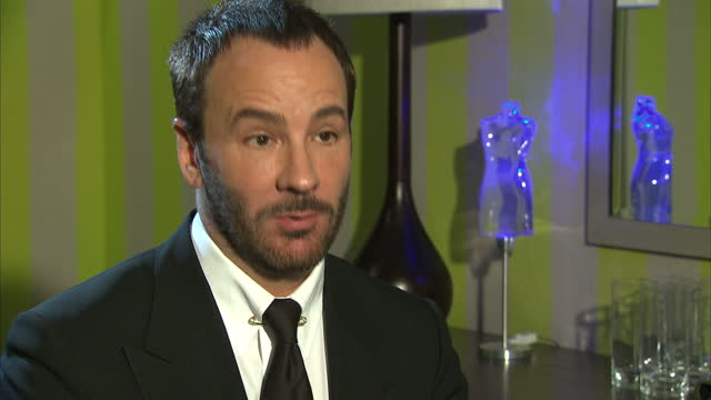 American fashion designer and film director Tom Ford has coproduced and directed a psychological thriller Interview with Tom Ford about his job as a...