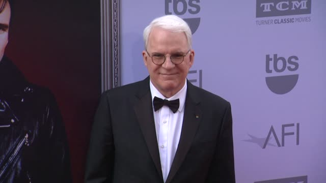 vídeos de stock, filmes e b-roll de clean american film institute's 43rd life achievement award gala tribute to steve martin at dolby theatre on june 04 2015 in hollywood california - american film institute