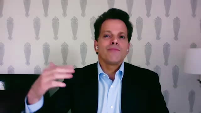 american financer anthony scaramucci shares his insight into the global political and cultural issues, and the ways societies can overcome them. - manhattan financial district stock videos & royalty-free footage