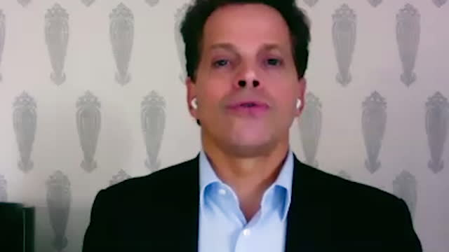 american financer anthony scaramucci shares his views on entrepreneur brock pierce and musician kanye west running for president of the united states... - manhattan financial district stock videos & royalty-free footage