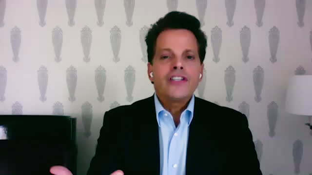 american financer anthony scaramucci shares the vulnerable truth of how skybridge is doing during the covid19 pandemic, which has taken a hit on the... - manhattan financial district stock videos & royalty-free footage