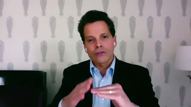 american financer anthony scaramucci talks about why he decided to take the risk to become and entrepreneur. - manhattan financial district stock videos & royalty-free footage