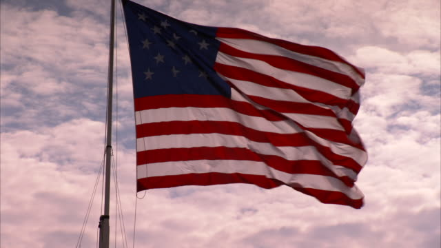 American flag at Fort McHenry