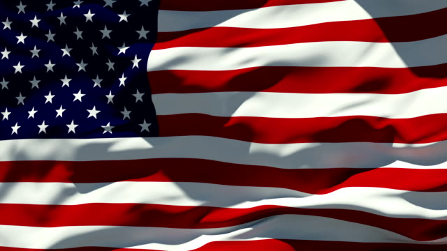 american flag | loopable - flag blowing in the wind stock videos & royalty-free footage