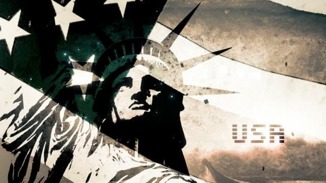 American Flag - Sketched V3