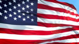 American Flag - Slow Motion - 4K Resolution
