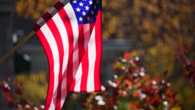 american flag. - new england usa stock videos & royalty-free footage