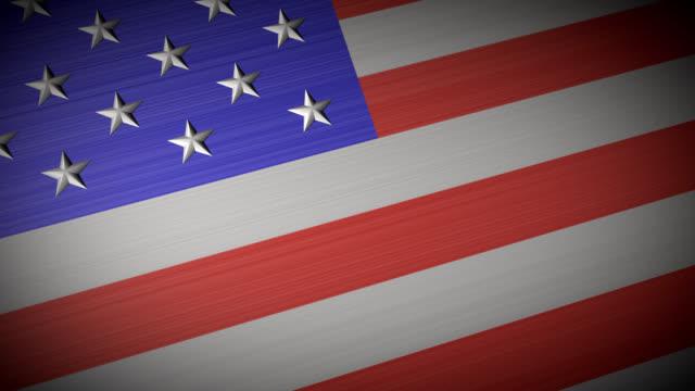 アメリカの国旗 - made in usa点の映像素材/bロール