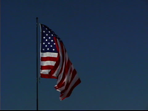 vidéos et rushes de american flag - drapeau américain